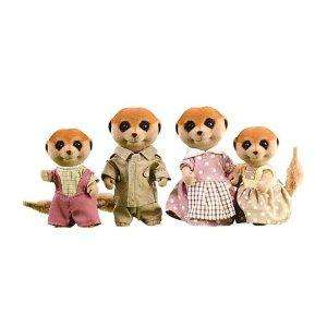 Sylvanian Families Meerkat Family rrp £15.99 now £8.96 del @ Amazon