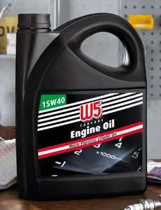 Multi-Purpose Engine Oil 15W40 5Litre £9.99 in LIDL