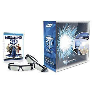 Samsung 3d glasses + Megamind 3d blu ray £50 @asda online