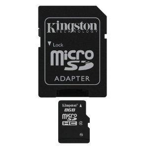 8gb kingston micro sd £3.35 @ Amazon Marketplace (IT Buy)