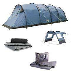 outdoor gear- Gelert vector 8 package, tent,carpet,footprint,canopy £185
