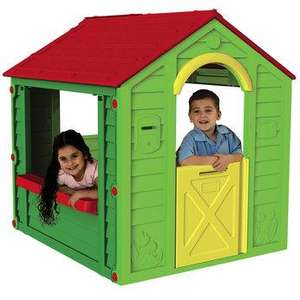 Back in Stock and half price again! Keter Kids 'Holiday House' Playhouse now only £49.99 (was £99.99) Toys r Us! Collection from store only (item not available for delivery at present).