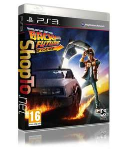 Back to the Future The Game (PS3 & Wii) for £16.85 @ Shopto.net