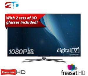 Samsung UE40D7000 LED FULL HD 1080p SMART 3D TV, 40 Inch with Built-in Wi-Fi was £999 now £799 @ RicherSounds