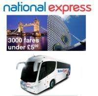 National Express Funfare Offers – tickets from £2.00