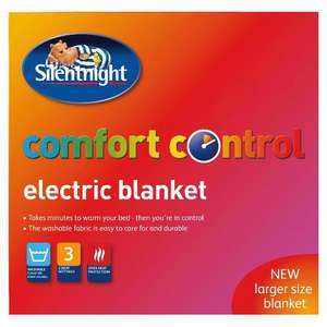 Silent Night Comfort control electric blanket king size £6 instore at tesco , was £50 originally then down to £25