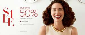 Up to 50% Off Sale @ Banana Republic