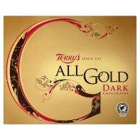 Terry's All Gold Dark Chocolates, 400g at Asda for £3