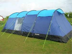 Lincoln Large 10 Berth/Man/Person/Family Camping Tent With Sewn In Groundsheet £305.49 at Square Kipper on Ebay