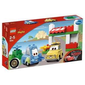 LEGO Duplo Disney Cars Luigis Place 5818 - only £9.98 delivered to store @ Tesco Direct -RRP £19.97