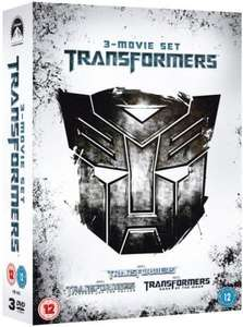 Transformers 1-3 Box Set (Includes Transformers 1, Tranformers 2: Revenge of the Fallen and Transformers 3: Dark of the Moon) DVD £10.95 + £1.99 delivery @ Sendit