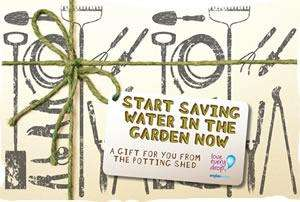 Garden Water Saving Kit @ Anglian Water