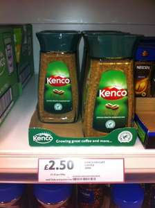 Under Half Price - Tesco - Kenco Decaff Coffee 200g (Large Jar) - £2.50