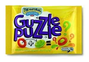 Guzzle Puzzle sweets - homebargains - 19p a bag