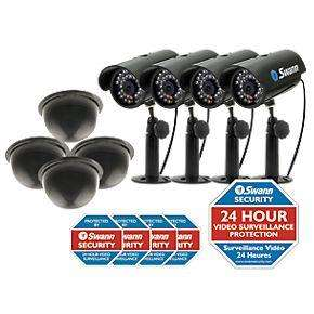 Swann 8 Camera Professional looking Dummy CCTV Kit £39.99 at Screwfix