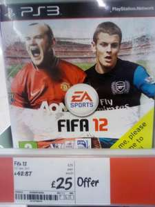 Fifa 12 - Asda Instore and Amazon (Xbox360 and PS3) - £25