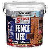 RONSEAL 5 YEAR FENCE LIFE WEATHER DEFENCE 9 LITRE - £10 @ B&Q