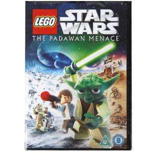 Lego Star Wars Padawan Menace DVD £2.99 @ Home Bargains Instore & Online (+50p postage online)