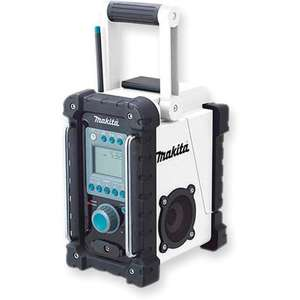 Makita Site Radio with MP3 input Axminster Power Tools £49.96 excl P&P