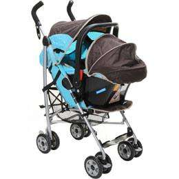 Graco Century Travel System with  Shopping basket and raincover included (Charlie Brown) for £94.98 Delivered @ BabysMart