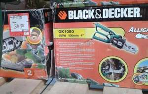 Black & Decker Alligator Powered Lopper GK1050 was £49.98 now £34.98 instore @ B&Q