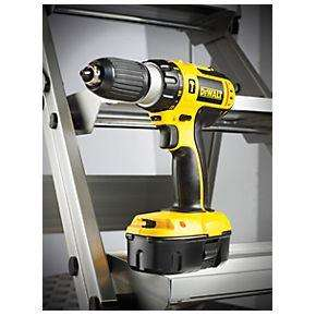 DeWalt 18V Cordless Combi Drill + 3 Batteries + 1 Hour Charger - Was £229.99, Now £116.99 with Code - Screwfix