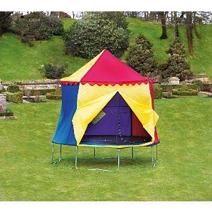 JumpKing 10ft Trampoline Circus Tent at Asda Instore - £45