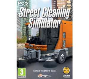 GEM Street Cleaning Simulator £1.49 @ Currys.co.uk