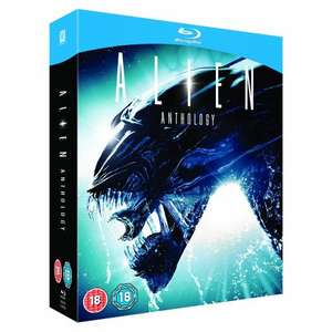 Alien Anthology [Blu-ray 4 Disc Boxset] £9.97 delivered @ Amazon