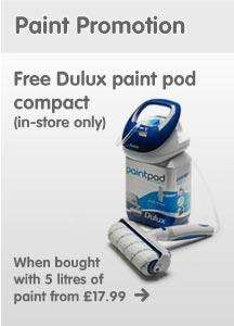 Free Dulux Paint Pod with 5l paint purchase  @ The Range