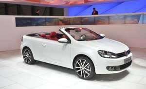 New Golf Cabriolet £1500 discount + 0% finance (from £189 p/m)
