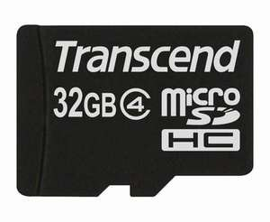 Transcend 32GB CLASS 4 Micro SD £13.19 + 3.53% TCB Caschback@Play