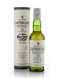 Laphroaig 10 Year Old 35cl bottle £12:00  - red/16.00 @ Asda