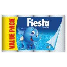 Fiesta kitchen roll 8 pk £2 at Tesco