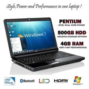 Fujitsu AH530 Laptop/Notebook - 4GB Ram 500GB HDD DVD HDMI Bluetooth £269.94 @ DABS Outlet