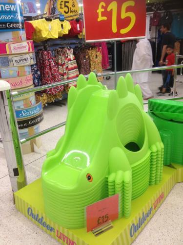 Dinosaur Slide £15.00 @ Asda instore