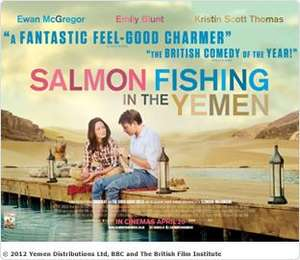 Salmon Fishing in Yemen 10 April Free Sky Movies Screening