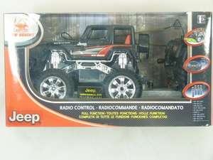 NEW BRIGHT 1:24 RADIO-CONTROL FULL FUNCTION JEEP WRANGLER - £8.97 Delivered @ Tesco eBay Outlet