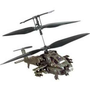 Micro Bladez 3D Apache Remote Control Helicopter £14.99 Delivered @ Gadget Grotto