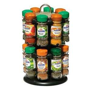 Schwartz - Revolving Spice Rack with 16 Spices @ Wilkinsons (Instore or + £4.95 online)
