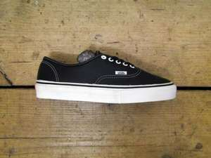 Vans Vault Authentic LX Leather Black  was £85  now £35 @ FOOT PATROL