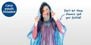 Waterproof Poncho at Aldi 99p - For all that purchased the Merlin tickets lol ;)
