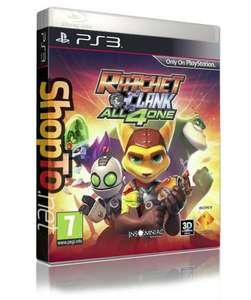 Ratchet and Clank All 4 One (PS3) for £17.86 @ Shopto.net