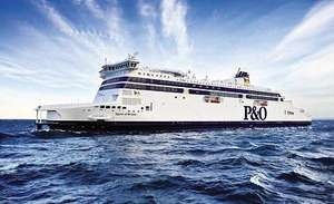£1 P&O Day Trip from Dover to Calais or £17 for a Car & 9 people - Plus Free Bottle Wine (for both types of trip)