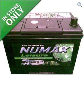 numax  75AH lesure battery £47.50 @ Go Outdoors