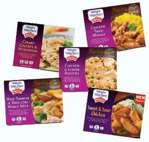 Weight Watchers Chilled Ready Meals all £1 at Tesco