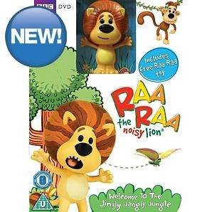 Raa Raa the Noisy Lion DVD with  Raa Raa figure - £6@ Asda Direct