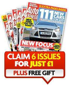 AUTO EXPRESS SPECIAL OFFER: 6 issues for £1 Plus FREE 26-Piece Toolkit