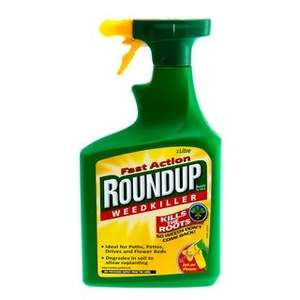 Roundup Weedkiller Spray Gun 1lt  £3.97 @ B&M