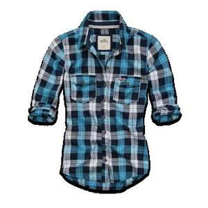 Hollister plaid shirt £8.90 From £40